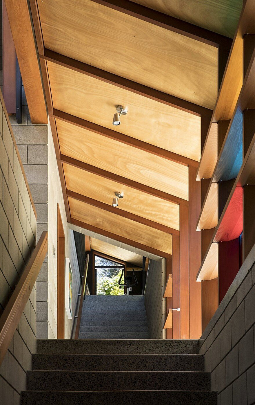 stairs, Strachan Group Architects 9