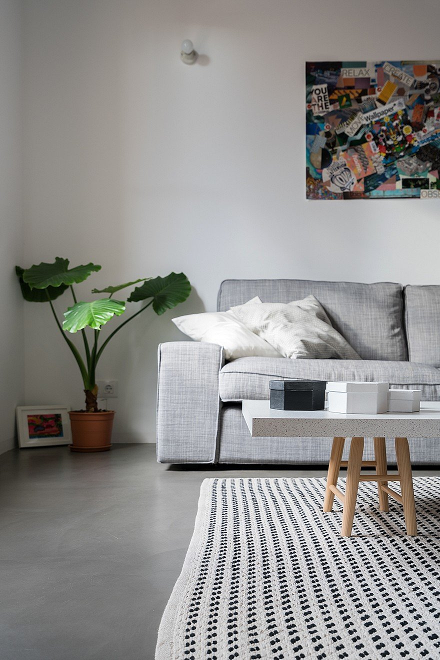 75 sqm Apartment Rehabilitation in a Old Building in Barcelona 3