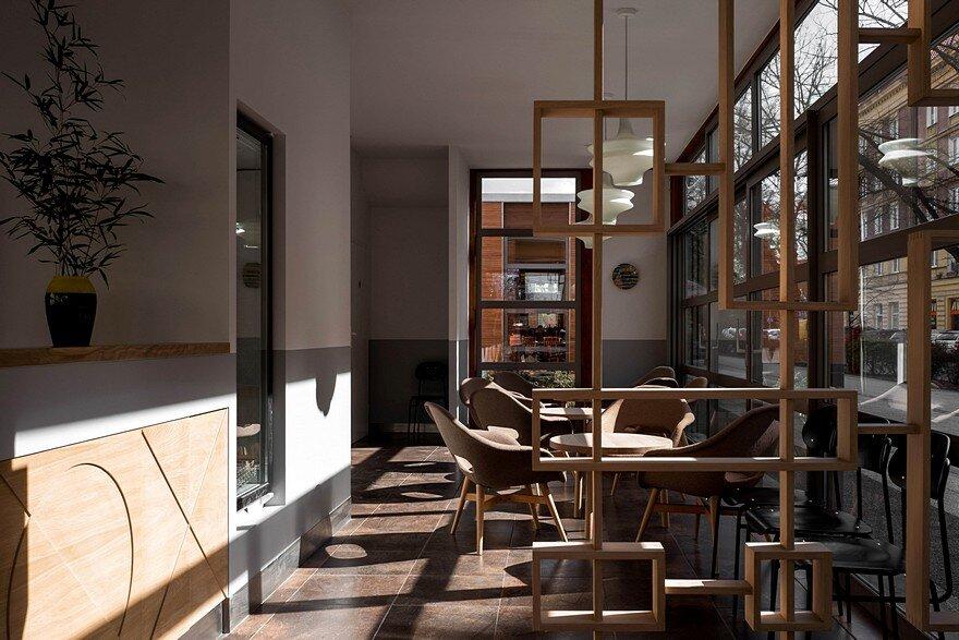 Hereford Steakhouse: Interior and Furniture Design by Loft Kolasiński 3