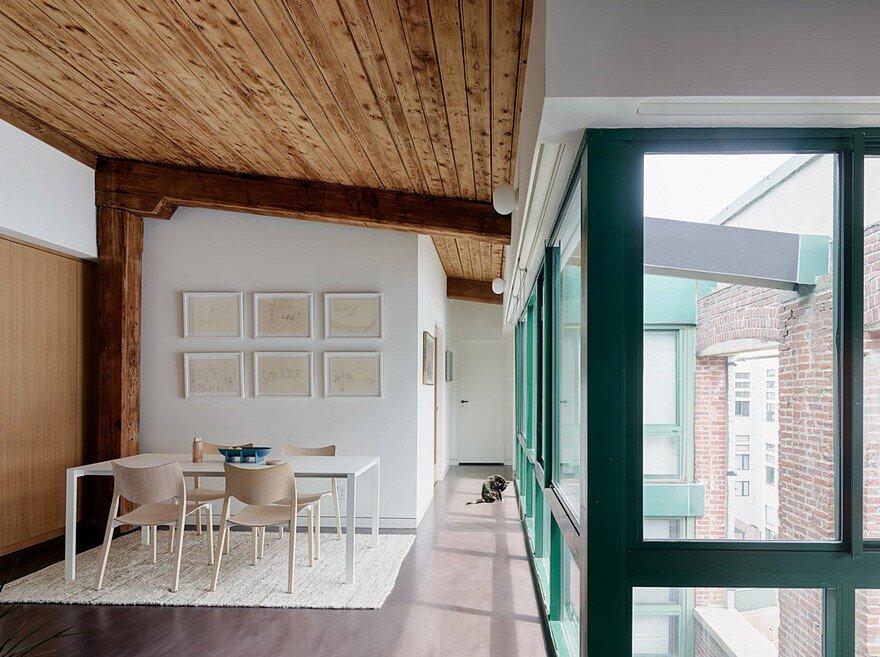 Loft Style Home Designed in a Former Brooklyn Jute Mill