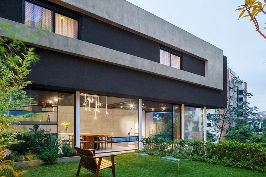 This São Paulo House Has a Mixed Structural Design that Combines Concrete with Steel