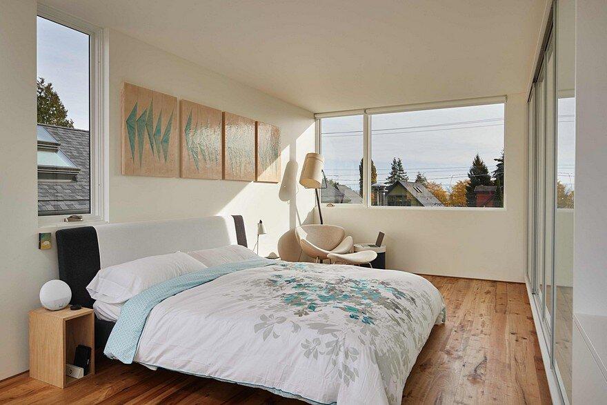 bedroom, Heliotrope Architects