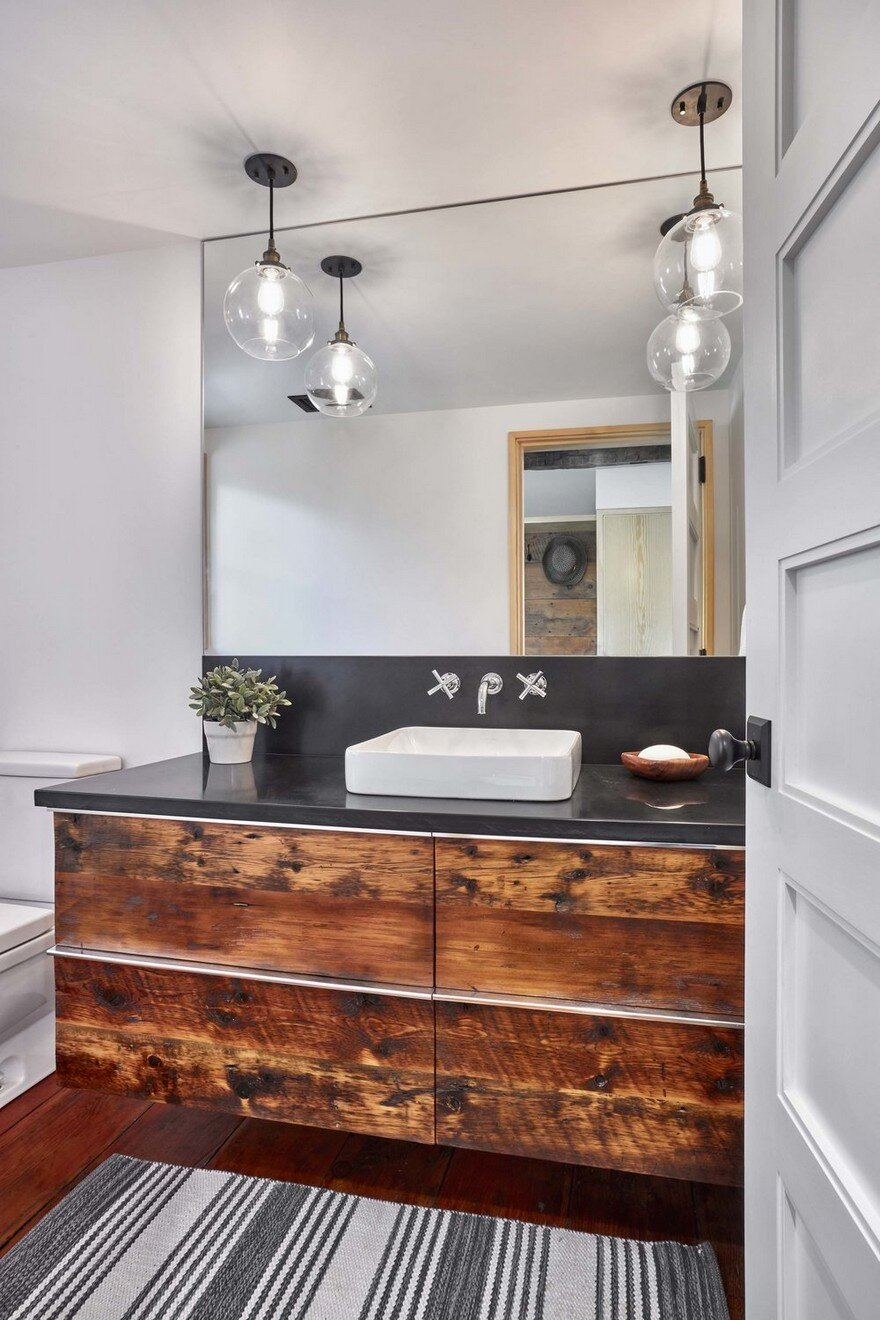 remodel kitchen design 1830 farmhouse transformed into a rustic modern retreat in 1830