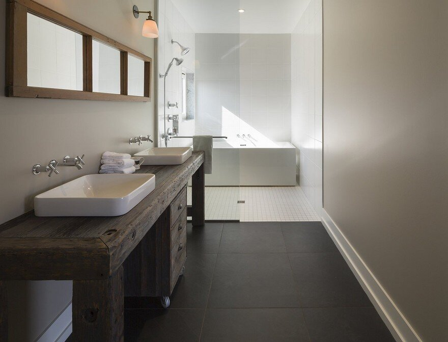 bathroom, Lee And Macgillivray Architecture Studio