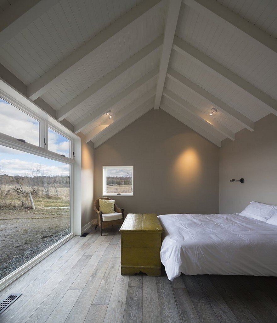 bedroom, Lee And Macgillivray Architecture Studio