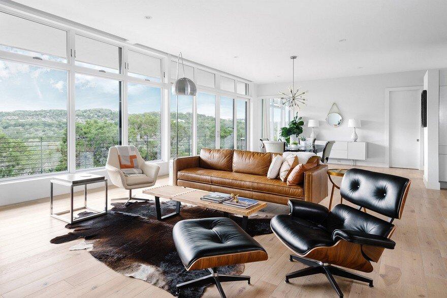 living room, North Arrow Studio