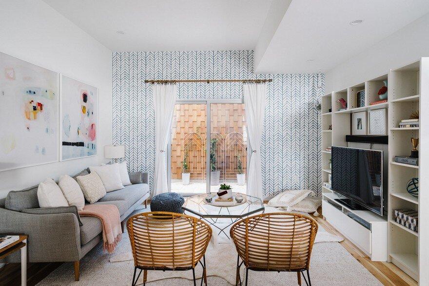Contemporary Farmhouse Featuring Scandinavian Design and ...