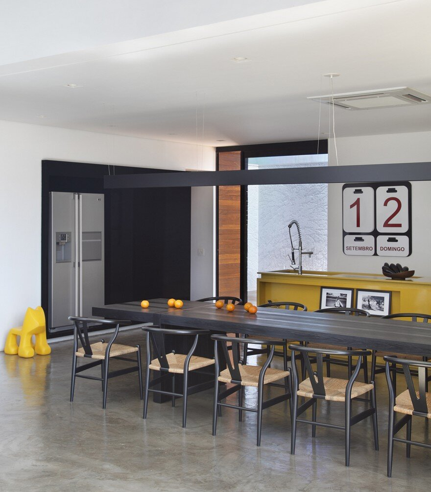 dining room, Studio Guilherme Torres