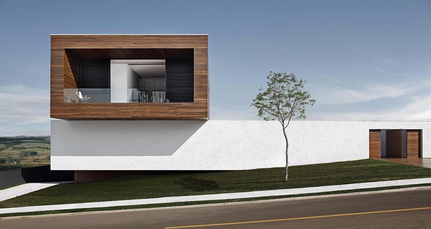 This Cubist House Connects the Expressiveness of Geometric Forms with the Beauty of the Eclectic Interiors 18