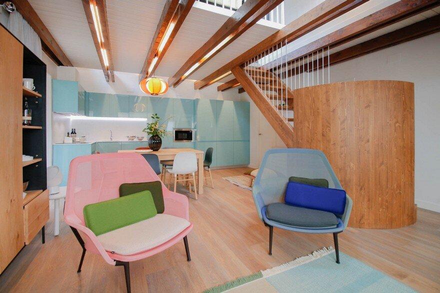 Duplex Penthouse Renovation by Estudio Pedro Feduchi 3