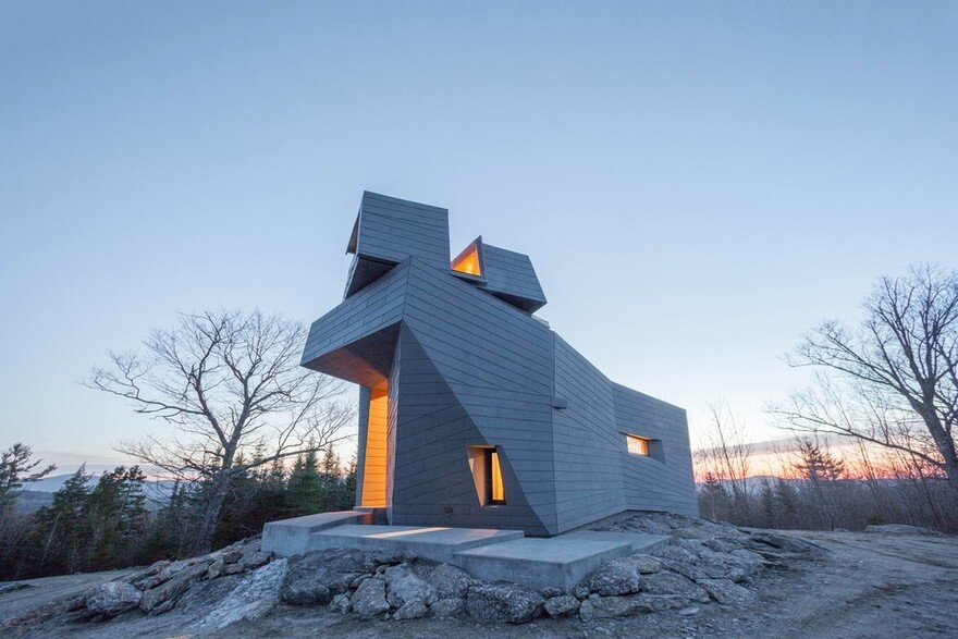 Gemma Observatory Located on a Remote Mountain Summit in New Hampshire 10