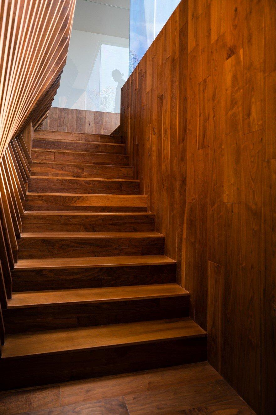 staircase, Dan Brunn Architecture