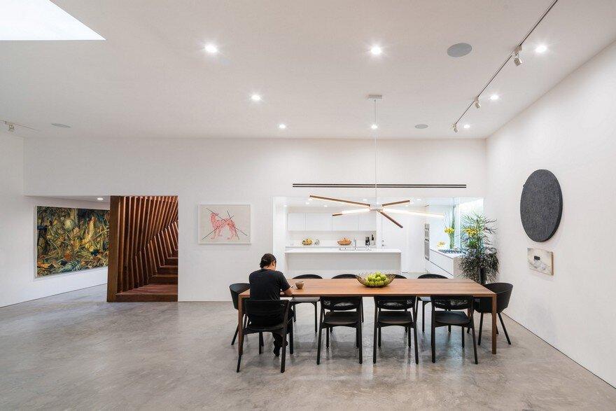 dining room, Dan Brunn Architecture