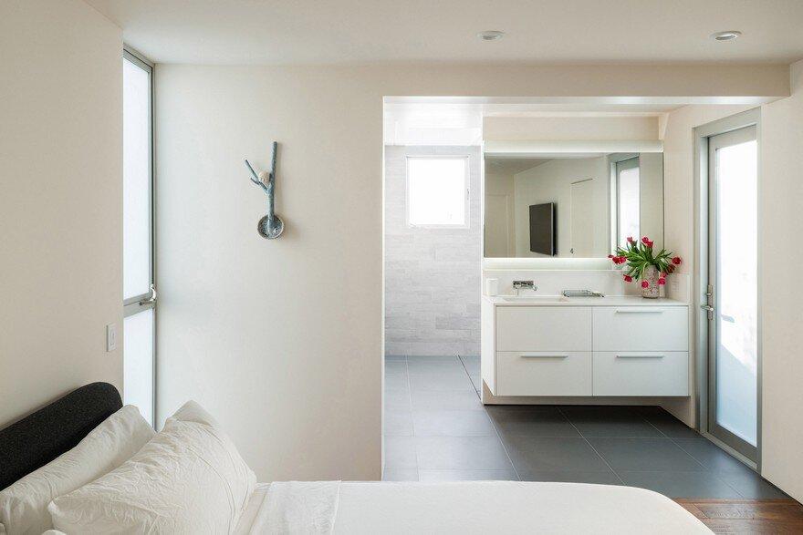 bedroom, Dan Brunn Architecture