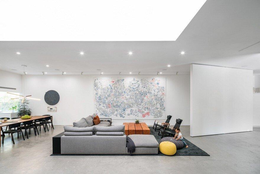 living room, Dan Brunn Architecture