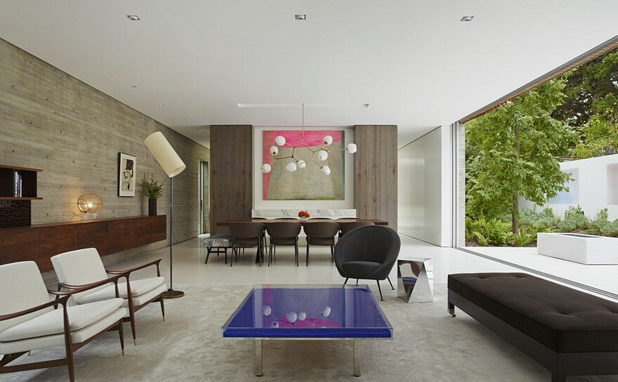 LEED Platinum House Designed by Fleetwood Fernandez Architects in Santa Monica