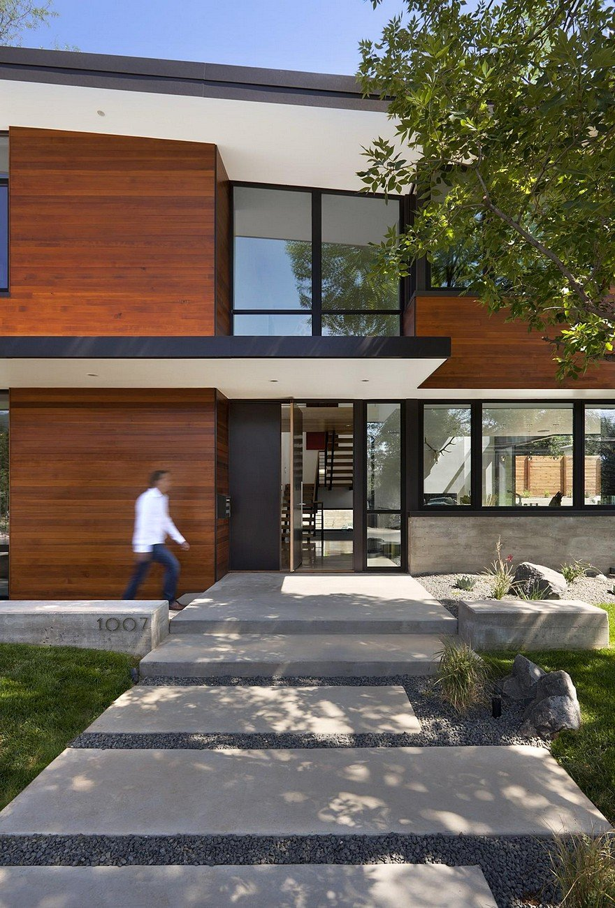 Modern Boulder House Designed for Two Professional Athletes