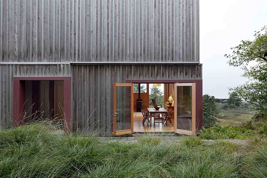 Neskowin Beach House Designed Like a Box of Cedar, Hemlock and Stone