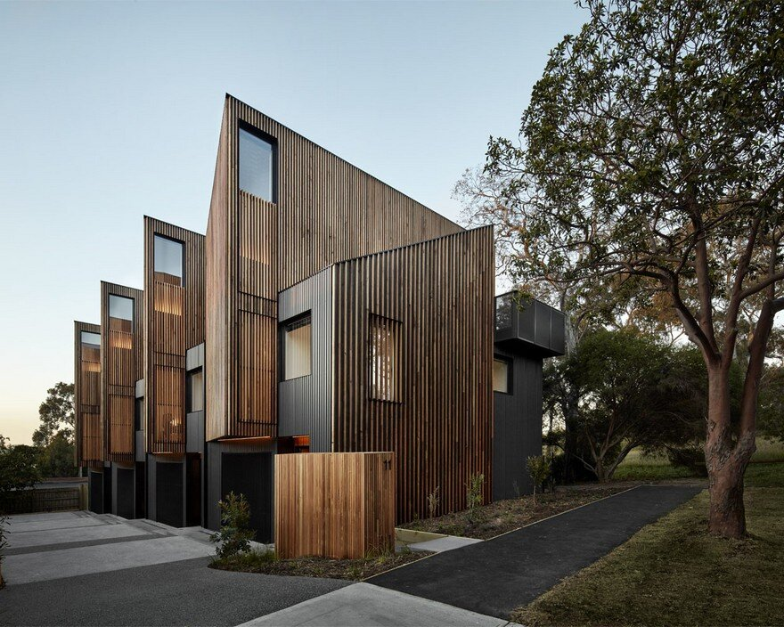 Parkville Townhouses by Fieldwork Project
