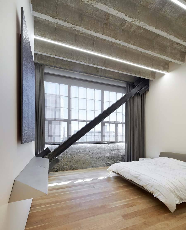 bedroom, Ogrydziak & Prillinger Architects - OPA