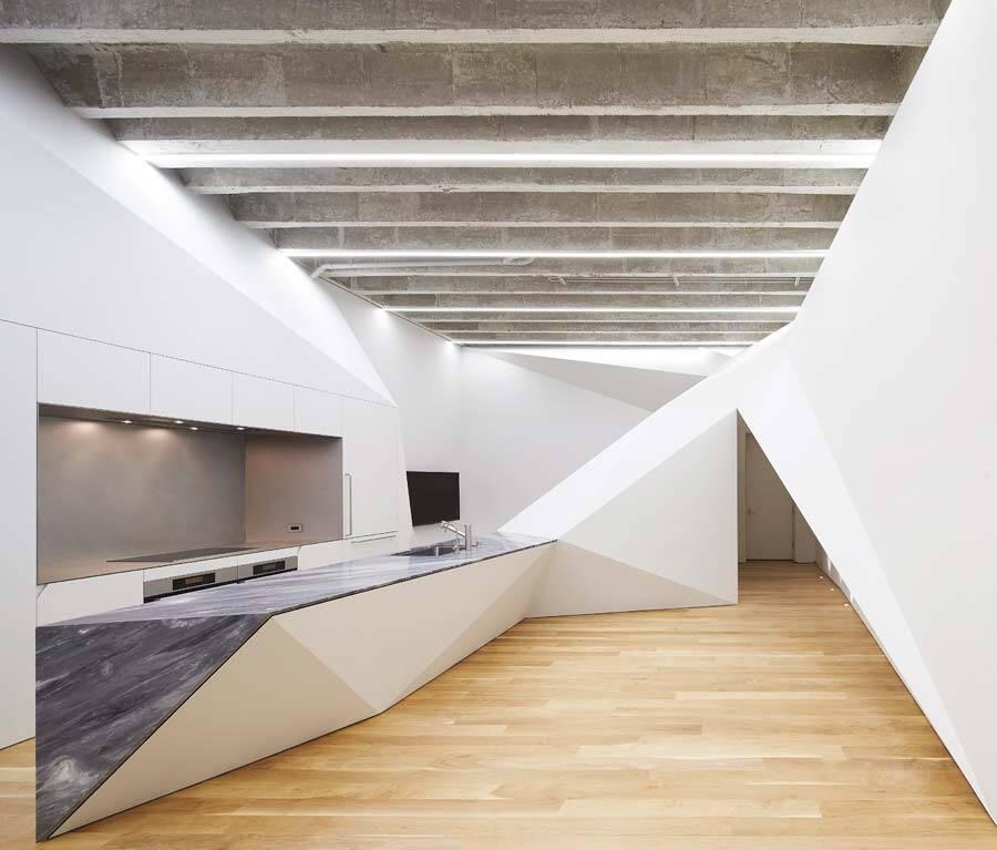 kitchen, Ogrydziak & Prillinger Architects - OPA