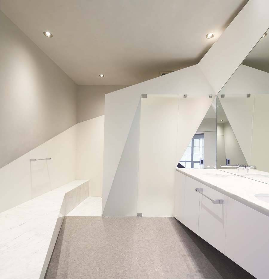 bathroom, Ogrydziak & Prillinger Architects - OPA