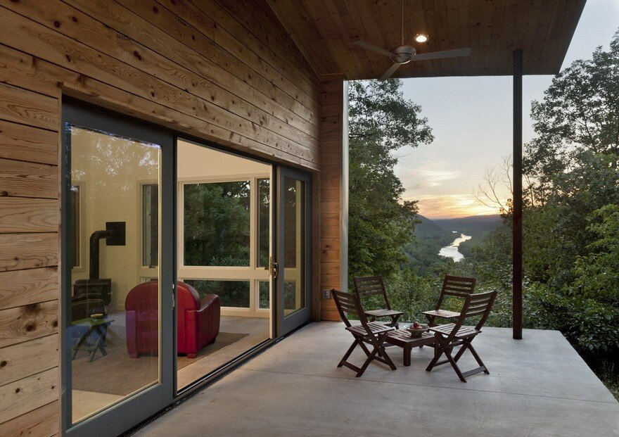 Modern Reinterpretation of the Vernacular Dogtrot Appalachia House