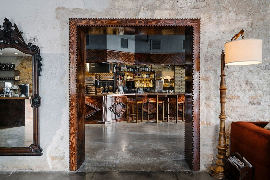 A Boutique Hostel, Cafe, and Event Space Nestled in a 1800's Stone Building