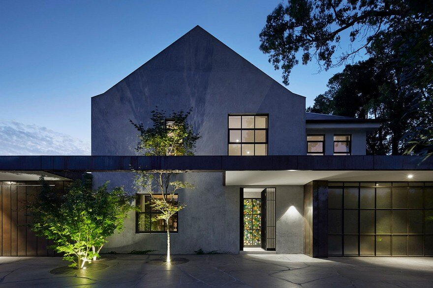 Renovation and Extension of the Hopetoun Road Residence by B.E Architecture