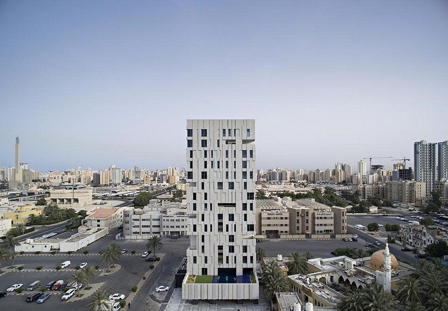 Wafra Vertical Housing in Salmiya