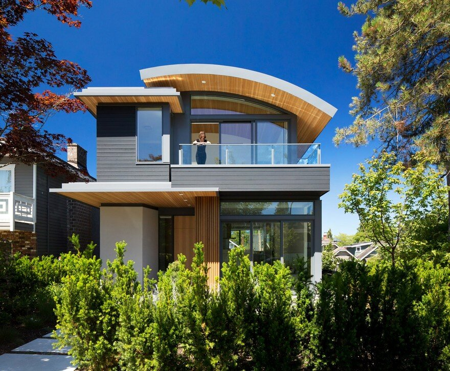 West 8th House is a Smart, Sustainable Home in Vancouver, Canada