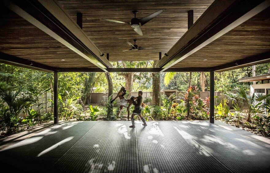 Yoga Studio and Boutique Hotel Set into in Tropical Landscape of Nosara, Costa Rica