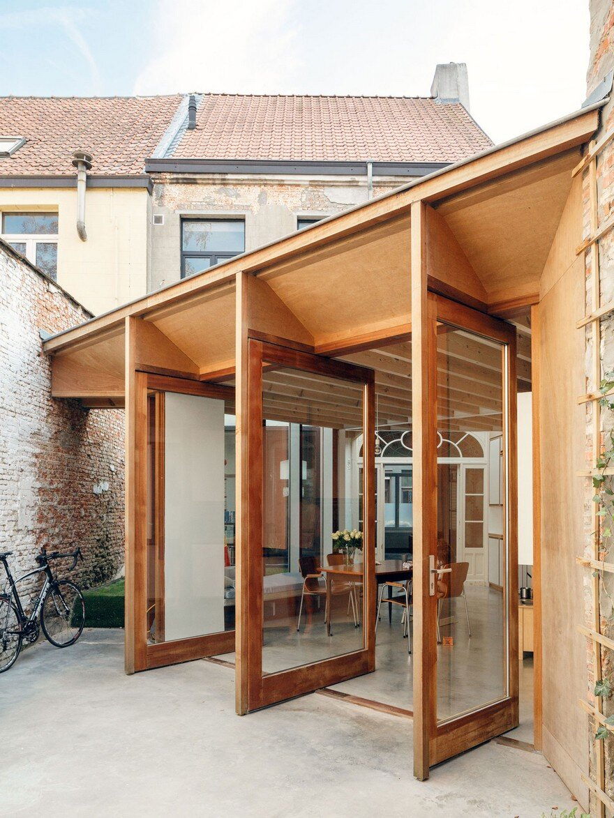 i.s.m.architecten Have Transformed a Row House into a Light-Filled Family Home 1