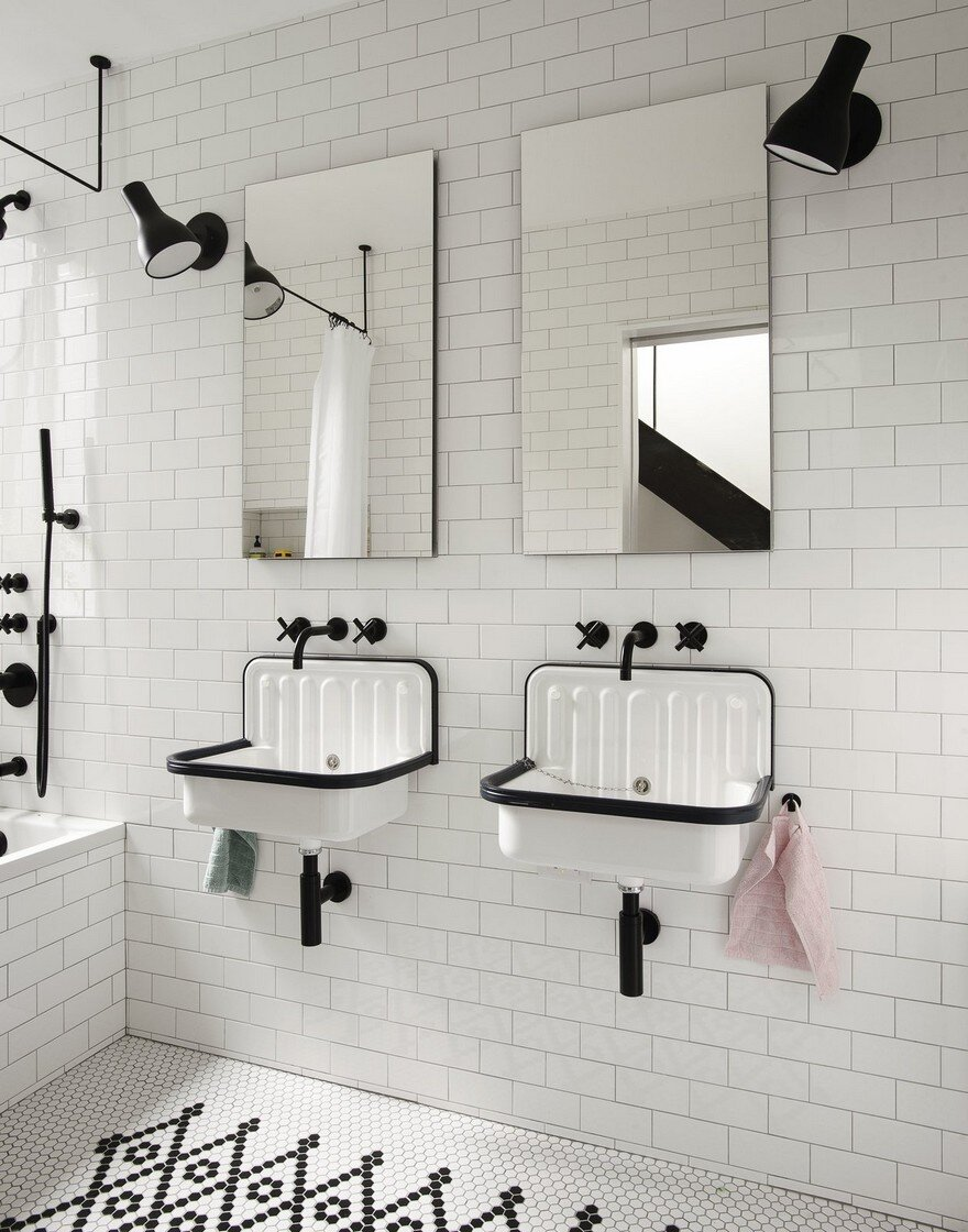 bathroom by Office of Architecture