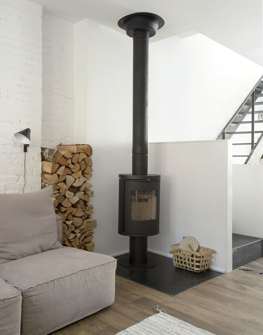 fireplace by Office of Architecture
