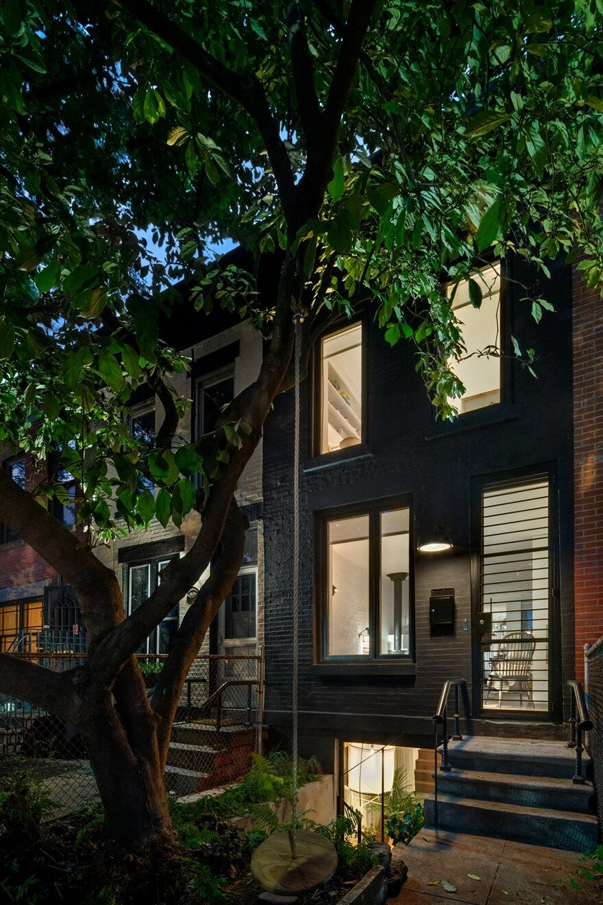 11 Foot Wide Brooklyn House Extended and Upgraded by Office of Architecture 18