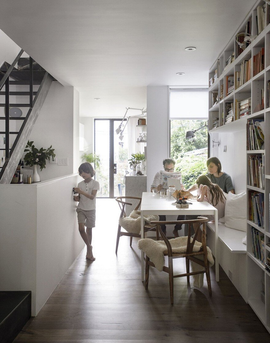 11 Foot Wide Brooklyn House Extended and Upgraded by Office of Architecture 3