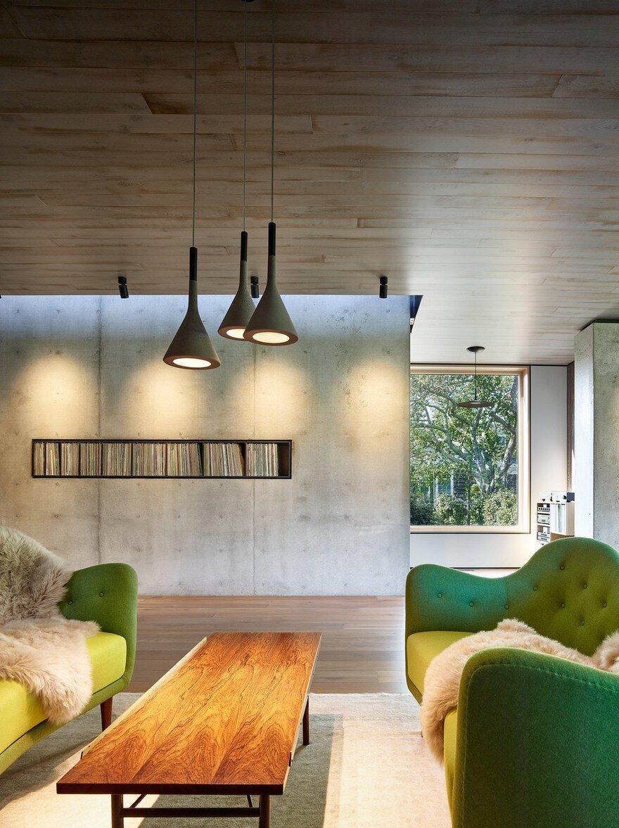 living room, Maziar Behrooz Architecture
