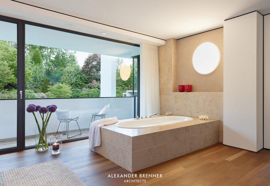 Bredeney House by Alexander Brenner Architects 14