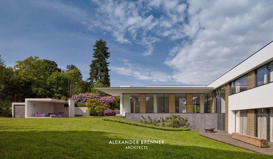 Bredeney House by Alexander Brenner Architects 17