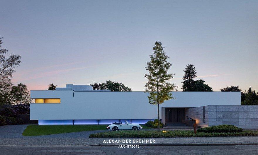 Bredeney House by Alexander Brenner Architects 19