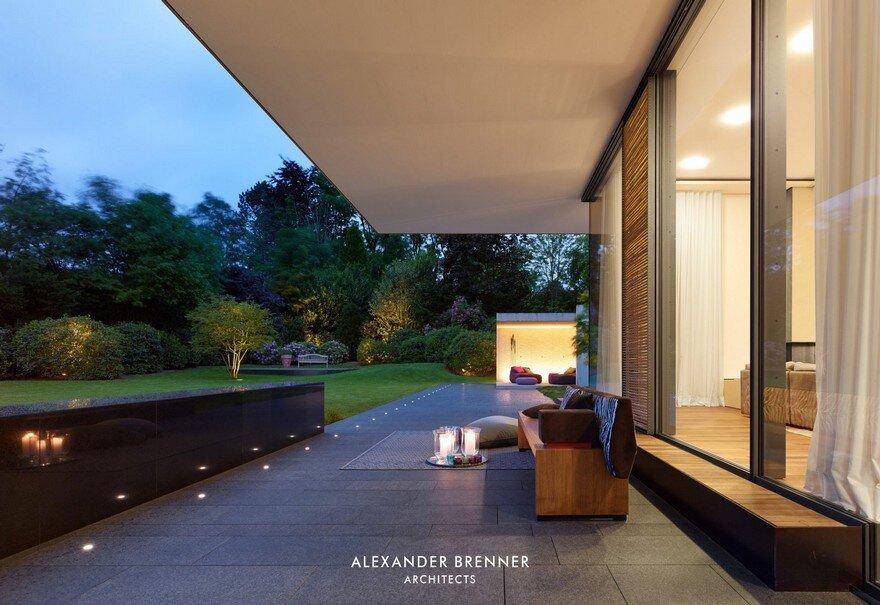 Bredeney House by Alexander Brenner Architects 16
