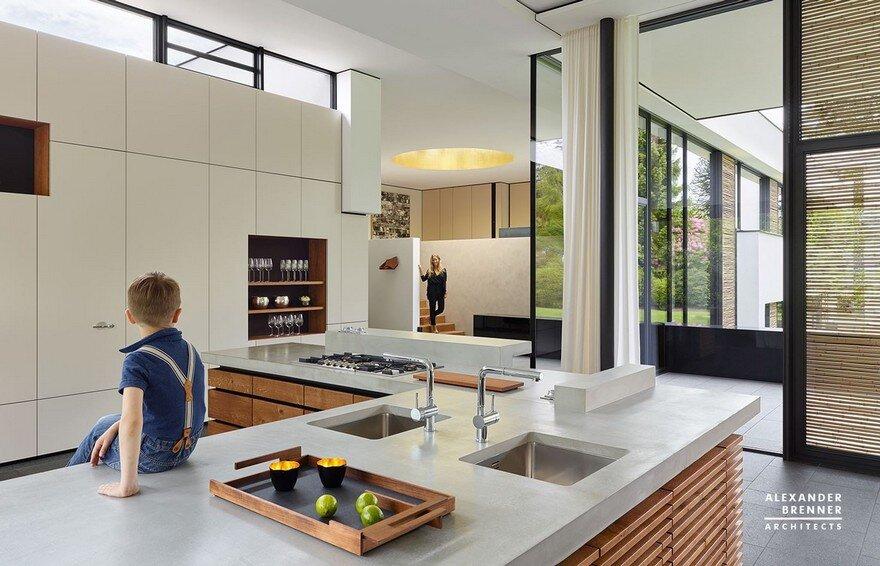 Bredeney House by Alexander Brenner Architects 6