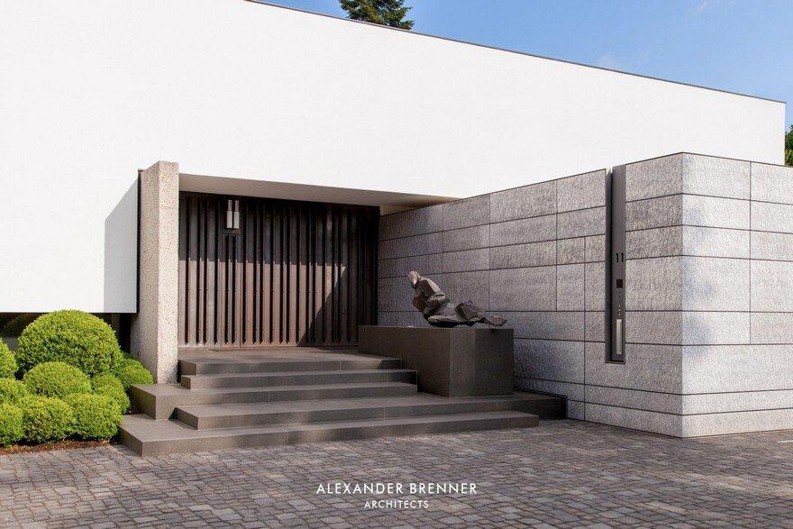 Bredeney House by Alexander Brenner Architects 2