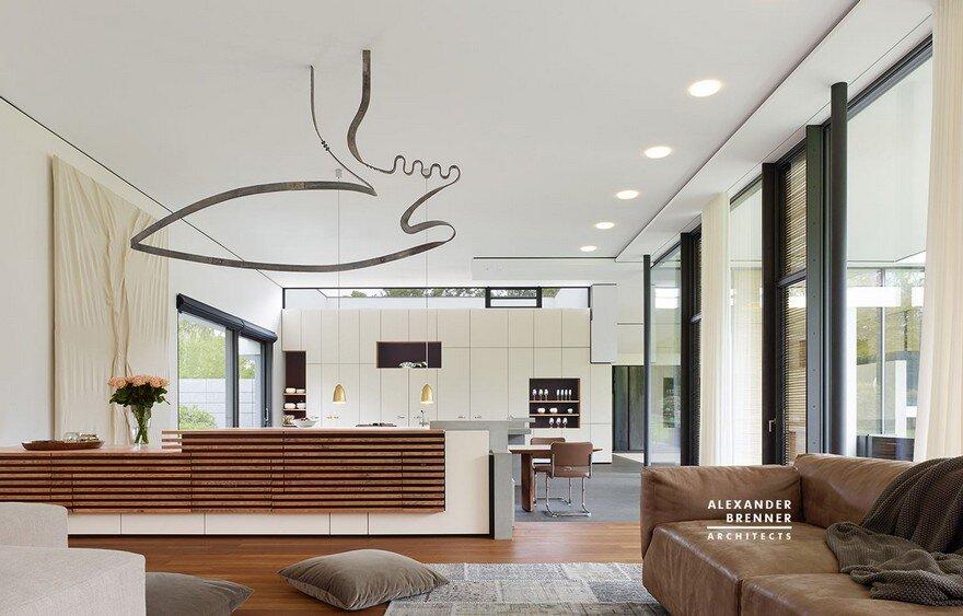 Bredeney House by Alexander Brenner Architects 11