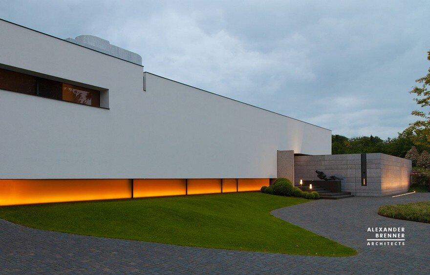 Bredeney House by Alexander Brenner Architects 18