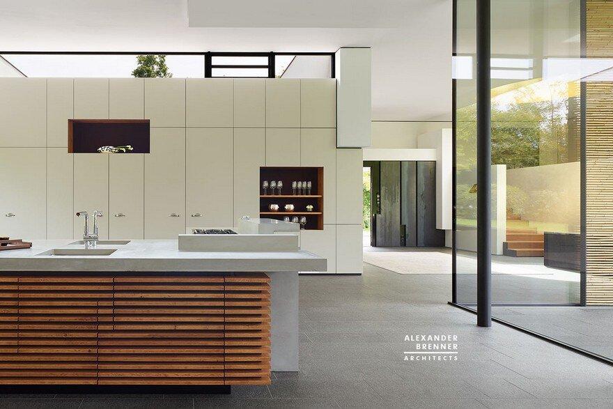 Bredeney House by Alexander Brenner Architects 12
