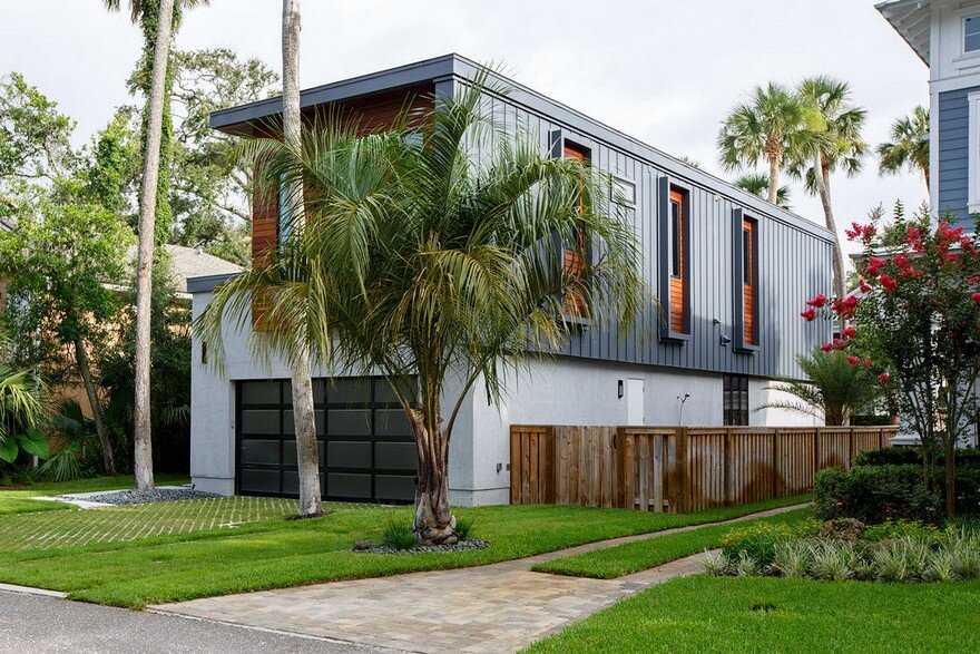 Contemporary Industrial Home in Atlantic Beach, Florida