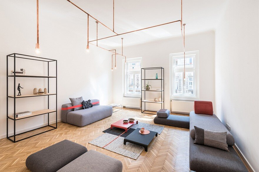 Flat Renovation in Budapest with Natural Materials
