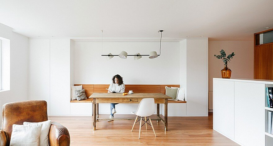 Integral Reform of an Apartment of 123m2 in Avilés, Spain